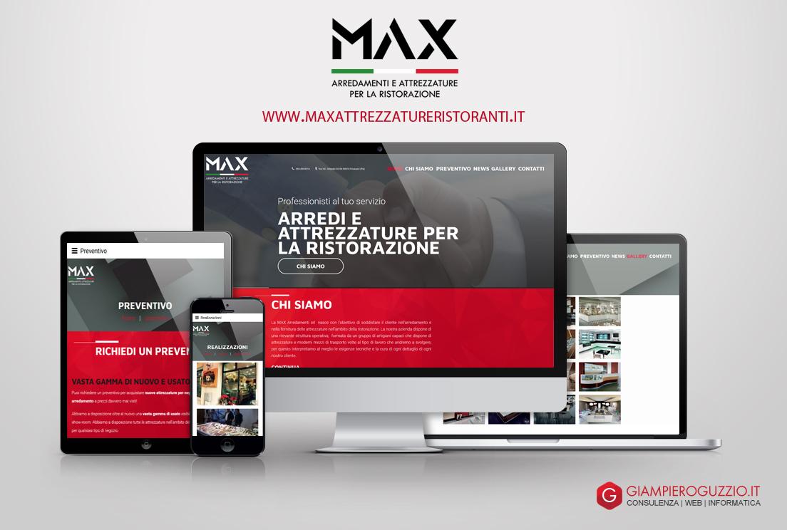 MAX - Attrezzature e Arredamenti